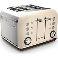 MORPHY RICHARDS Accents 242101 4-Slice Toaster - Sand, Sand