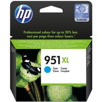 HP 951XL Cyan Ink Cartridge, Cyan