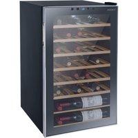 HUSKY Reflections HUS-HN10 Wine Cooler - Black, Black