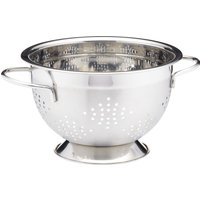 MASTER CLASS 23 cm Deluxe Two Handled Colander - Stainless Steel, Stainless Steel