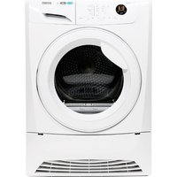 ZANUSSI  ZDH8333W Heat Pump Tumble Dryer - White, White