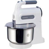 KENWOOD HM680 Chefette Hand Mixer with Bowl - White & Grey, White