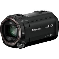 PANASONIC HC-V770EB-K Full HD Camcorder - Black, Black