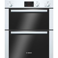 BOSCH Avantixx HBN13B221B Electric Built-under Double Oven - White, White