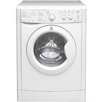 INDESIT IWDC6125 Washer Dryer - White, White