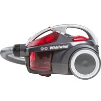 HOOVER Whirlwind SE71_WR01 Cylinder Bagless Vacuum Cleaner Grey & Red, Grey