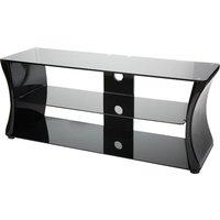 VIVANCO Sirocco 1100 TV Stand - Black & White, Black