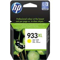 HP 933XL Yellow Ink Cartridge, Yellow