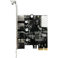 DYNAMODE 4-Port USB 3.0 PCIe Card
