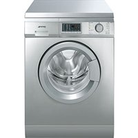 SMEG WDF147X Washer Dryer - Stainless Steel, Stainless Steel