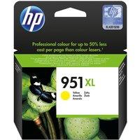 HP 951XL Yellow Ink Cartridge, Yellow