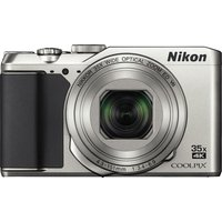 NIKON COOLPIX A900 Superzoom Compact Camera - Silver, Silver