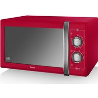SWAN Retro SM22070RN Solo Microwave - Red, Red
