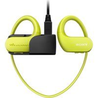 SONY Walkman NW-WS413G 4 GB Waterproof All in One MP3 Player - Yellow, Yellow