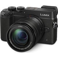 PANASONIC DMC-GX8MEB-K Mirrorless Camera with 12-60 mm f/3.5-5.6 Lens - Black, Black