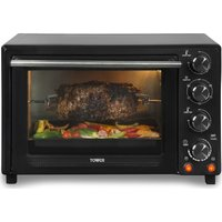 TOWER T24004 Air Convector Oven - Black, Black