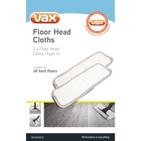 VAX Microfibre Floorhead Cloth Set