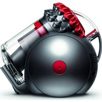 DYSON Big Ball Total Clean Cylinder Bagless Vacuum Cleaner - Red & Iron, Red