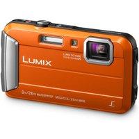 PANASONIC Lumix DMC-FT30EB-D Tough Compact Camera - Orange, Orange