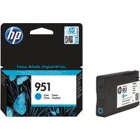 HP 951 Cyan Ink Cartridge, Cyan