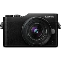 PANASONIC LUMIX DC-GX800KEBK Mirrorless Camera with 12-32 mm f/3.5-5.6 Wide-angle Zoom Lens - Black, Black
