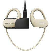 SONY Walkman NW-WS413C 4 GB Waterproof All in One MP3 Player - Cream, Cream
