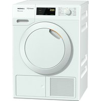 MIELE Eco & Comfort TDD130WP Heat Pump Tumble Dryer - White, White