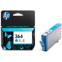 HP 364 Cyan Ink Cartridge, Cyan