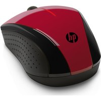 HP X3000 Wireless Optical Mouse - Sunset Red, Red