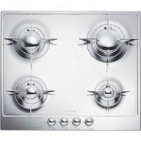 SMEG P64ES Gas Hob - Stainless Steel, Stainless Steel