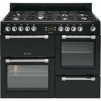LEISURE Cookmaster CK110F232K Dual Fuel Range Cooker   Black  Black