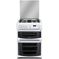 CANNON CH60GCIW Gas Cooker - White, White