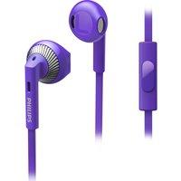 PHILIPS SHE3205PP/00 Headphones - Purple, Purple