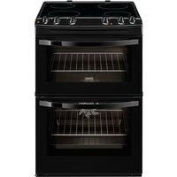 ZANUSSI ZCV66030BA Electric Ceramic Cooker - Black, Black