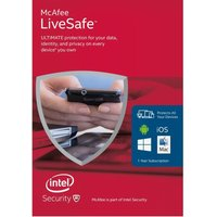 MCAFEE LiveSafe Unlimited 2016