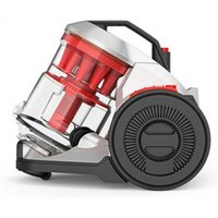 VAX Air Total Home CCQSAV1T1 Cylinder Bagless Vacuum Cleaner - Graphite & Red, Graphite