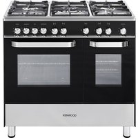KENWOOD CK405G Gas Range Cooker - Black, Black