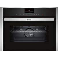 NEFF C17FS32N0B Compact Electric Steam Oven - Stainless Steel, Stainless Steel