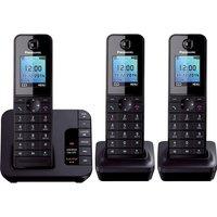 PANASONIC KX-TG8183EB Cordless Phone with Answering Machine - Triple Handsets