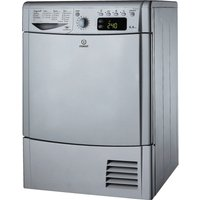 INDESIT  IDCE8450BS Condensor Tumble Dryer - Silver, Silver