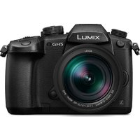 PANASONIC Lumix DC-GH5LEB-K Compact System Camera with 12-60 mm f/2.8 - 4.0 Zoom Lens - Black, Black