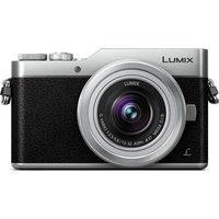 PANASONIC LUMIX DC-GX800 Mirrorless Camera with 12-32 mm f/3.5-5.6 Lens - Silver, Silver