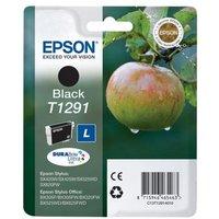 EPSON Apple T1291 Black Ink Cartridge, Black