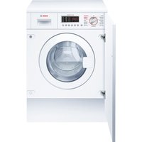 BOSCH WKD28541GB Integrated Washer Dryer - White, White