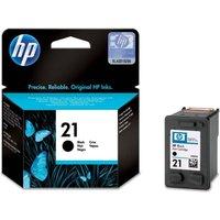 HP 21 Black Ink Cartridge, Black