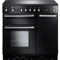 RANGEMASTER  Toledo 90 Electric Induction Range Cooker   Black   Satin  Black