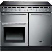 RANGEMASTER Hi-LITE 100 Electric Induction Range Cooker - Stainless Steel & Chrome, Stainless Steel