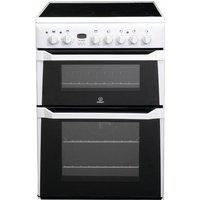 INDESIT ID60C2WS Electric Ceramic Cooker - White, White