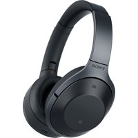SONY MDR-1000X Wireless Bluetooth Noise-Cancelling Headphones - Black, Black