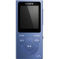 SONY Walkman NW-E394R 8 GB MP3 Player with FM Radio - Blue, Blue